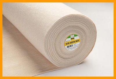Soyamix volumevlies 278 van vlieseline 152 cm breed